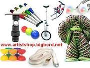 Цирковой реквизит продаем и изготавливаем Artistshop.