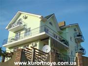 мини отель Курортное. Отдых на черном море в Крыму возле Кара Дага