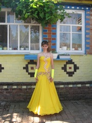 Вечернее платье для выпускного вечера