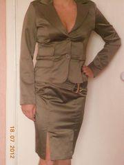 костюм женский атласный