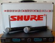 Радиосистема с двумя микрофонами SM 58 Shure LX 88III