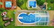 Монтаж и продажа оборудования для бассейнов,  прудов,  фонтанов и саун