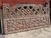 Еврозаборы  євроогорожі  забор ступени памятники  бордюр  плитка фасад
