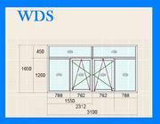 Балконные рамы WDS