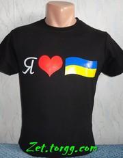 Футболки с символикой Украины