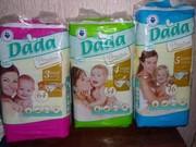 Подгузники DADA Premium (Польша) аналог Pampers activ Baby