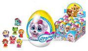 Шоколадные яйца с сюрпризом и игрушками из мультиков. Киндер сюрприз