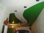 Натяжные потолки,  отделочные работы