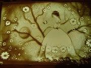 Песочное шоу,  песочная анимация