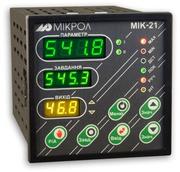 Микропроцессорный регулятор МИК-21;  МИК-25
