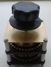 Переключатель ползунковый ПП 60-21