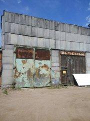 Производственный цех с кран-балкой