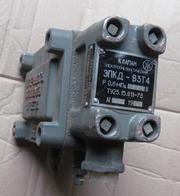 Клапан электропневматический двойной взрывозащищенный ЭПКД-В3Т4