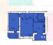 Просторная 2к с панорамными окнами в Эспланаде