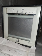 Амперметр самопишущий Н-392 1мА